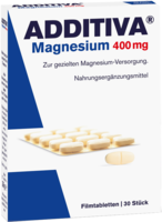 ADDITIVA Magnesium 400 mg Filmtabletten